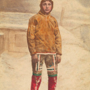 A young Greenlander around 1870 by Niels HANSEN