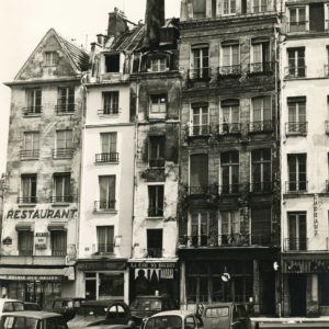 Photograph of Baltard Hall - Paris 1960 - Vintage Silver Print