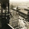Photographie des Halles Baltard - Paris 1960 - Tirage Argentique Original d'époque
