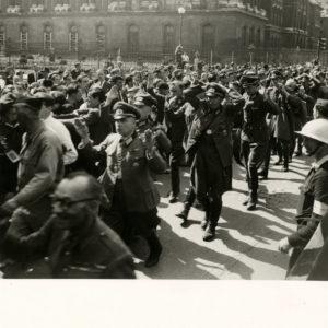 Libération Paris Rivoli 1944 SEEBERGER - Prisonniers - Tirage Original