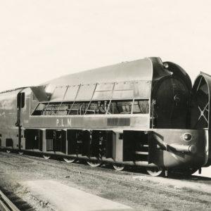 Locomotive CARÉNÉE PLM 221-B-11 1937-Tirage Argentique Original d'Époque 18x24cm