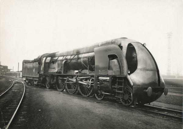 Locomotive PLM 231-H CARÉNÉE 1938 - Tirage Argentique Original d'Époque 27x38cm