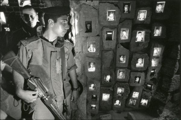 Martyrs Memorial of HÉBRON Cisjordanie by David TURNLEY. Vintage Silver Print 7.5x11in