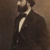 Emile AUGIER par Nadar - Tirage albuminé original format CDV ca 1870 en vente dans notre Galerie Selection Photo