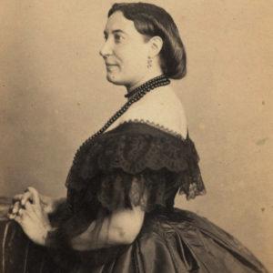 Augustine BROHAN by Nadar - Vintage print : selectionphoto.com