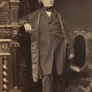 Louis HENRIQUEL-DUPONT graveur - Tirage albuminé original format CDV ca 1870