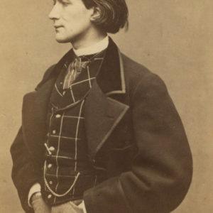 Victorien SARDOU écrivain - Tirage albuminé original format CDV ca 1870