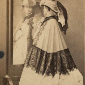 Marie-Anne DAUDOIRD par Paul COUTEM - Tirage albuminé original format CDV ca 1870