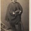 Portrait d'Ernest MEISSONIER par Bingham - Tirage albuminé original format CDV ca 1870