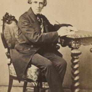 Portrait Giacomo Meyerbeer - Vintage albumen print format CDV ca 1870