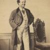 Portrait de BERTHELIER Comédien - Tirage albuminé original format CDV ca 1870