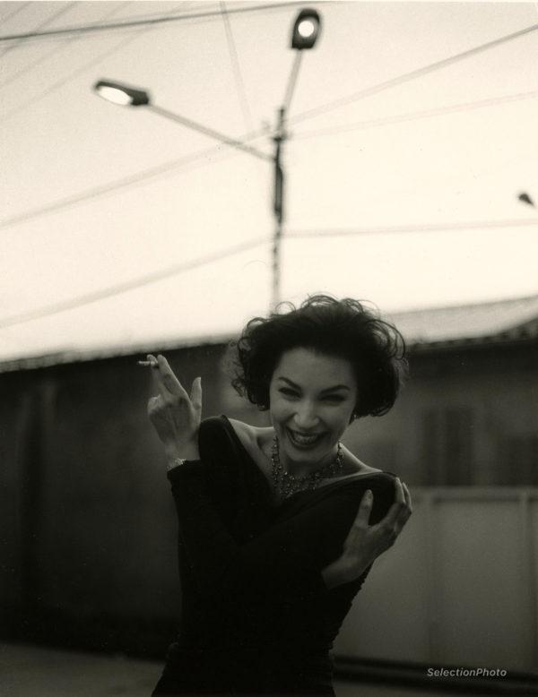 Photographie Jeanne BALIBAR - Beau Tirage Argentique Original sur Baryté 26x35cm