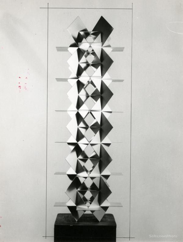F. SOBRINO Structure Permutationnelle - Tirage Argentique Original 1966 18x23cm