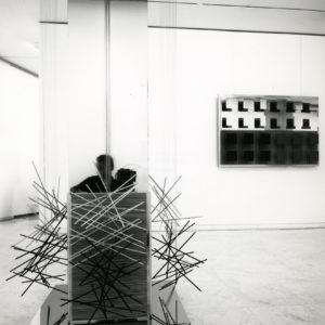 Sculpture Rafael SOTO Vibrations Jai-alai - Tirage Argentique Original vers 1970 18x23 cm