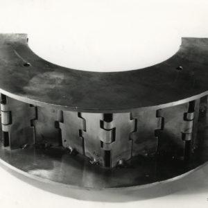 Photograph sculpture VISEUX Claude - Vintage Silver Print 1970 7x9in