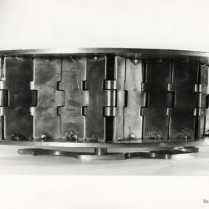 Claude VISEUX Photograph sculpture - Vintage Silver Print 1970 7x9in
