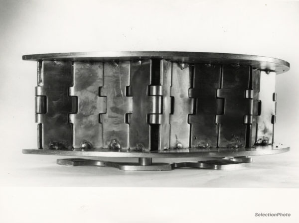 Claude VISEUX Photographie sculpture - Tirage Argentique Original 1970 17x23cm