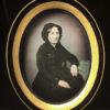 DAGUERREOTYPE Fergeau 1/6e de plaque - Portrait d'une Jeune Femme - 7 x 9,4 cm