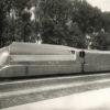 Photographie locomotive carénée PLM de 1940