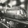 Photographie du Banc DYNAMOMÉTRIQUE de Vitry (France) - Locomotives PLM 221. 2 Tirages Originaux d'Époque