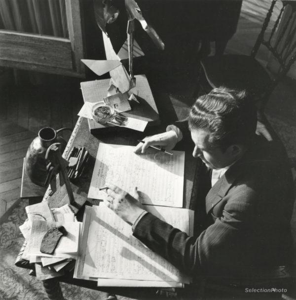Photographie André JOLIVET Paris 1941 - Tirage Original André ZUCCA
