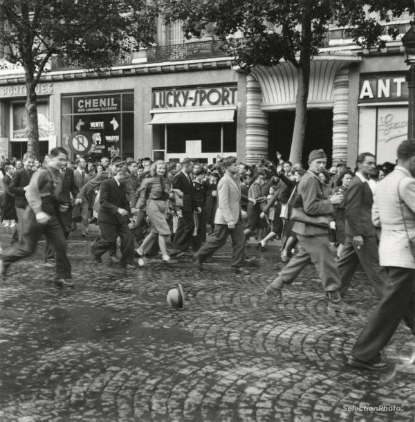Célébration LVF contre Bolchévisme A. ZUCCA août 1943 - Tirage Original