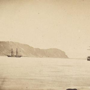 Expedition SPITZBERG Nordenskiöld 1872 - 4 Vintage Albumen Prints by Axel Enwall