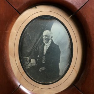 Portrait DAGUERREOTYPE 1/6th plate - landlord - 3.9x2.7in