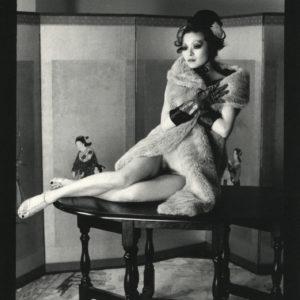 Photograph Irina IONESCO - Nude - Vintage Silver Print 1990 - 6x8.6in