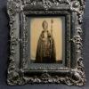 Cardinal Edouard PIE c. 1860 - Photographie d'après Nature sur AMBROTYPE 15x10cm