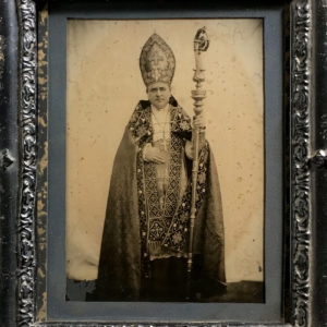 Cardinal Edouard PIE - Photograph based on reality on AMBROTYPE circa 1860