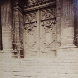 Eugène ATGET - Eglise Saint Gervais PARIS - Tirage Albuminé d'époque 22x18cm