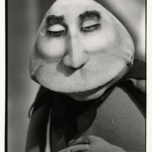Photo de KERMITTERRAND du Bebete Show 1989 - Tirage Argentique Original 24x16cm