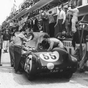 Lotus Eleven - 24 heures du Mans 1957 - Tirage Argentique Original 30x40cm