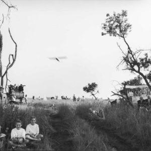 F. BRENNER Johannesburg - Safari à l'occasion de Pourrim - Tirage Argentique Original 44x34cm