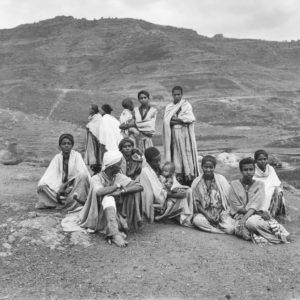 F. BRENNER Juifs d'Éthiopie 1983 - DIASPORA - Tirage Argentique Original 42x34cm