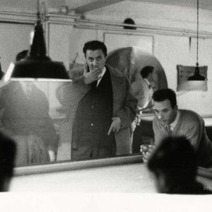 Federico FELLINI par Jack GAROFALO - Tirage Argentique Original 1958 - 24x16 cm