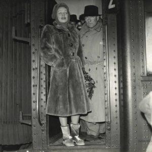Jean GABIN et Marlène DIETRICH 1947 - Tirage Original d'époque - 23x18cm