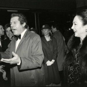 Césars - Marcello MASTROIANNI 1984 - Tirage Argentique Original 23x16cm