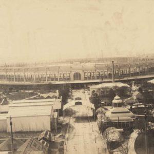 Champs de Mars PARIS 1867 - Exposition Universelle - Grande Albumine 30 x 17 cm